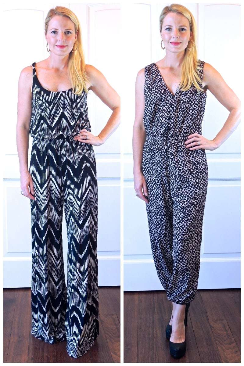 Look Skinnier, 10 Ways to Look 10 Pounds Skinnier. For example, wear smaller scale prints, versus larger scale as this before and after picture shows