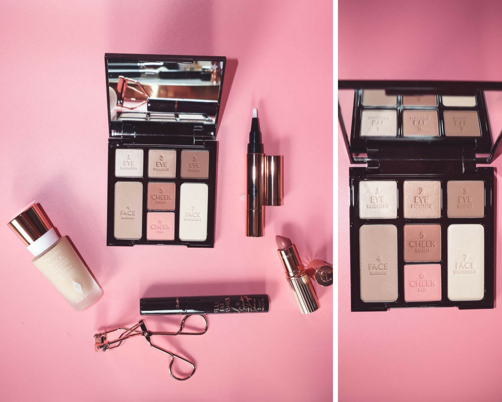 5-Minute Makeup routine featuring the instant look in a palette by Charlotte Tilbury