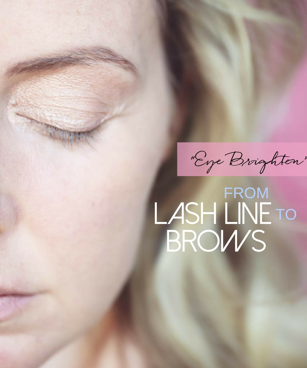 5-Minute makeup routine featuring charlotte tilbury instant look in a palette, base color from lash line to brows