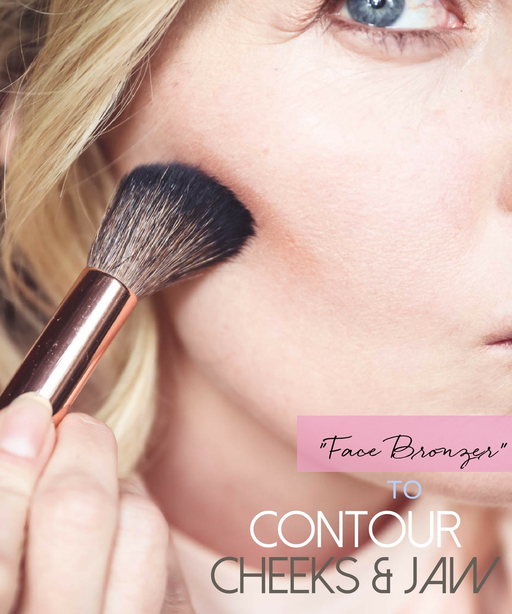 5-Minute makeup routine featuring charlotte tilbury instant look palette, bronzer