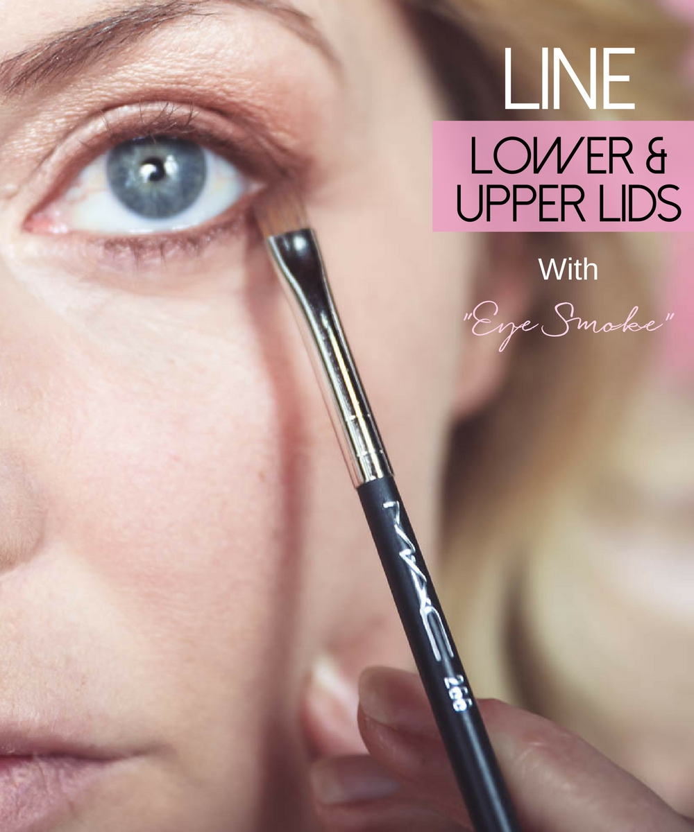 5-Minute makeup routine featuring charlotte tilbury instant look in a palette, liner color, lining eyes with eye smoke from Charlotte tilbury