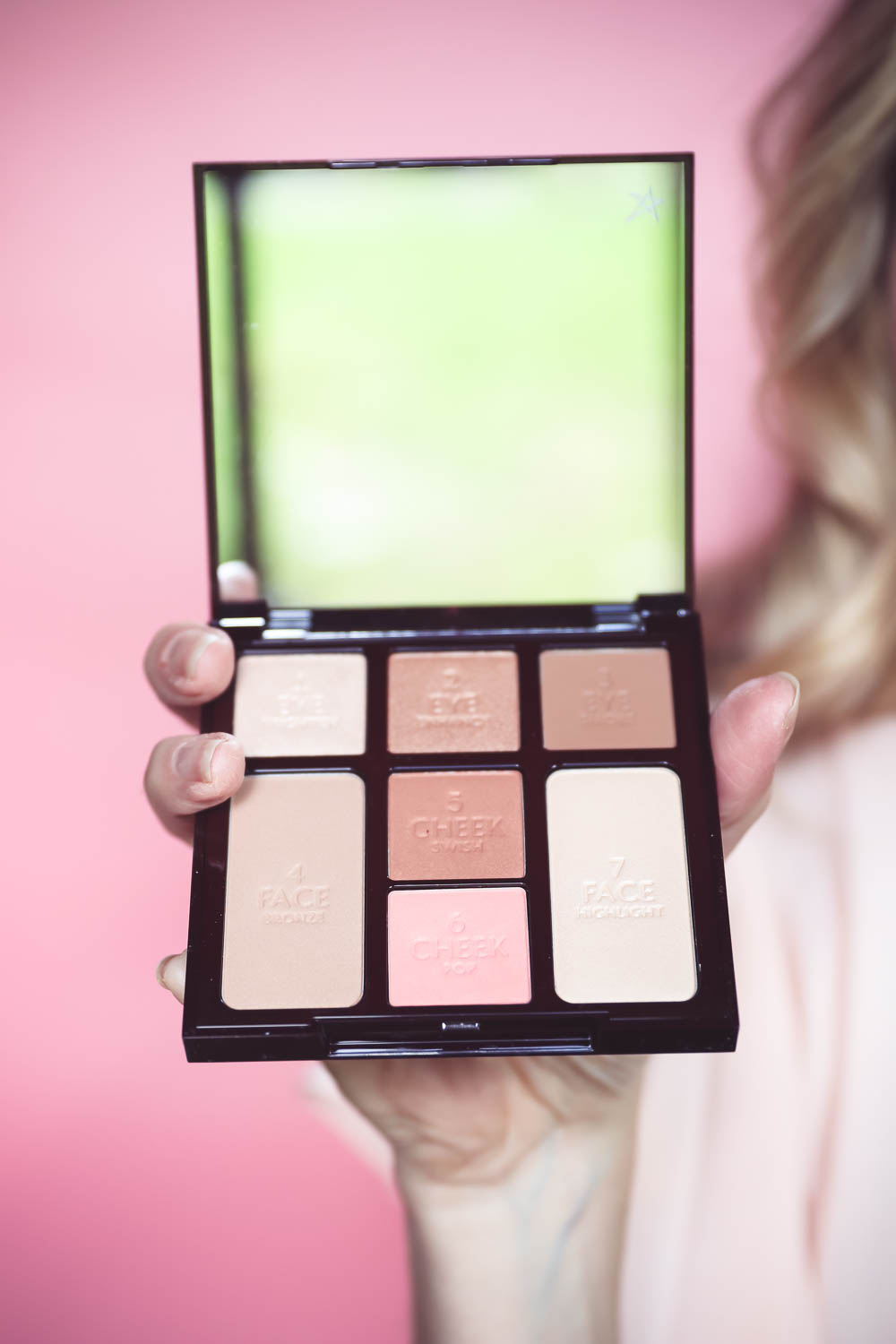 5-Minute makeup routine featuring charlotte tilbury instant look in a palette