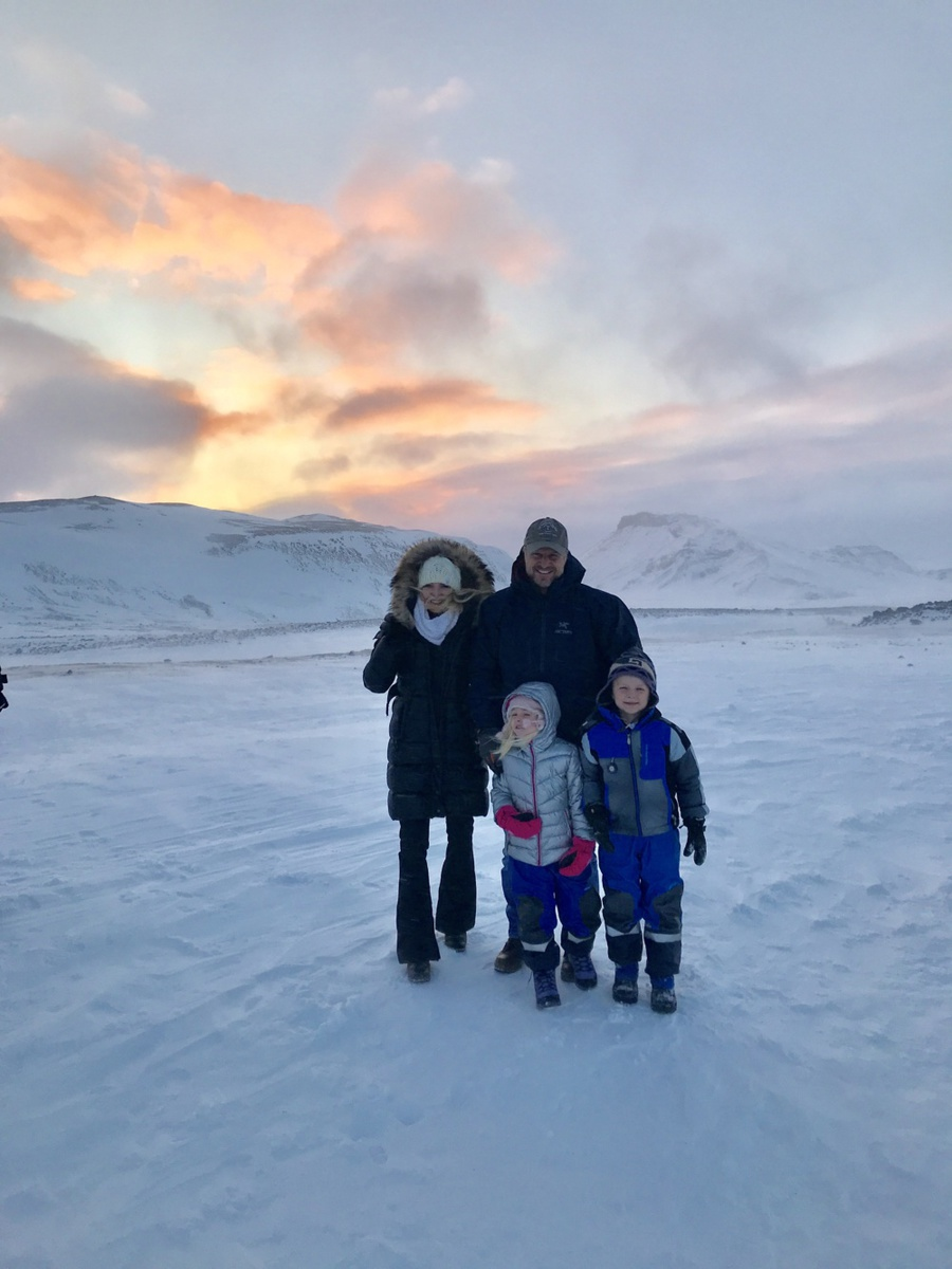 Iceland Trip | Lifestyle Blogger, Erin Busbee of Busbee Style and her family