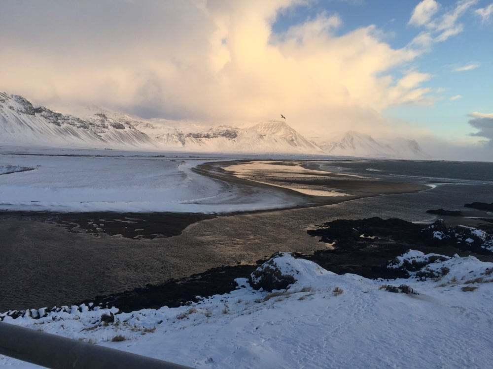 Everything you need to know about planning a trip to Iceland, view of the beach from Hotel Budir