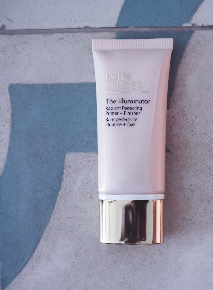 flawless skin, featuring estee lauder illuminator and primer for the face, apply before foundation, beauty over 40, beauty blogger Erin Busbee of Busbee Style