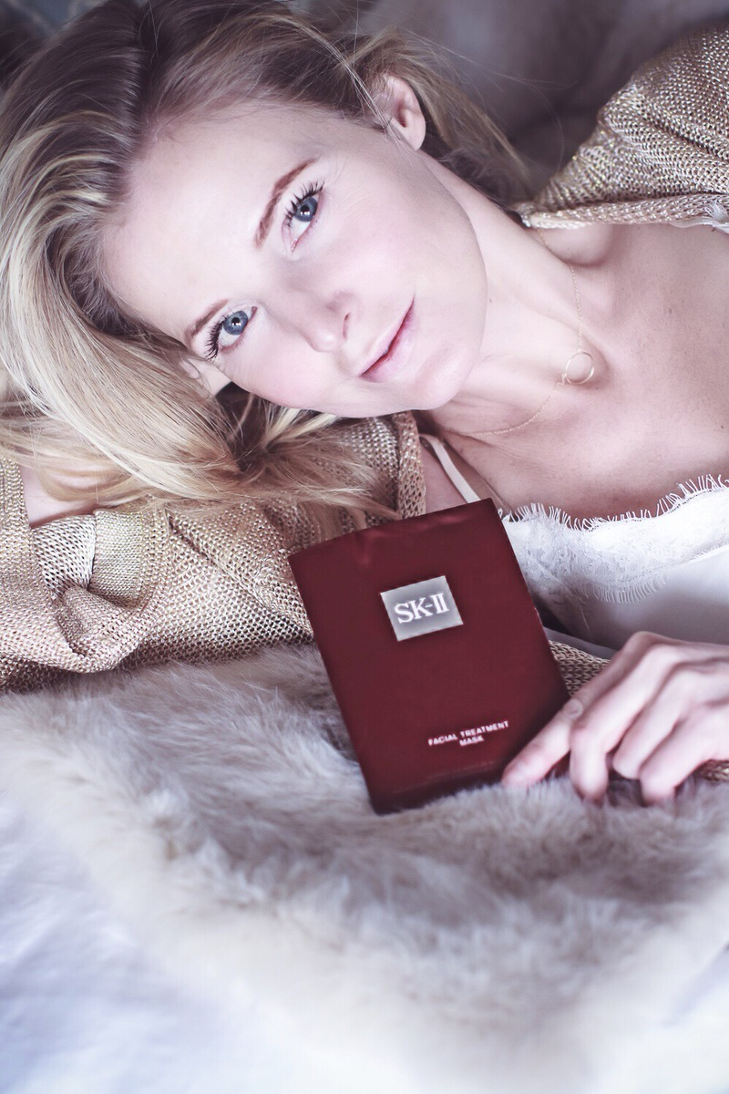SK II Facial Treatment Mask Review, beauty blogger over 40 Erin Busbee of Busbee Style gives us the scoop on this face mask, is it worth the money?
