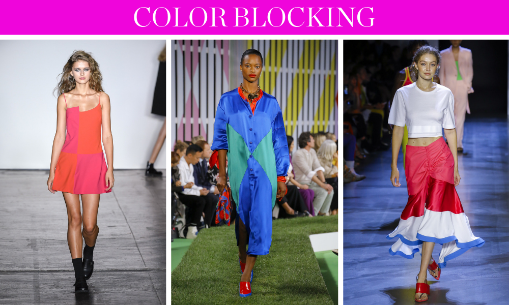 Spring Trends for 2019 by fashion blogger Erin Busbee of BusbeeStyle.com including color blocking