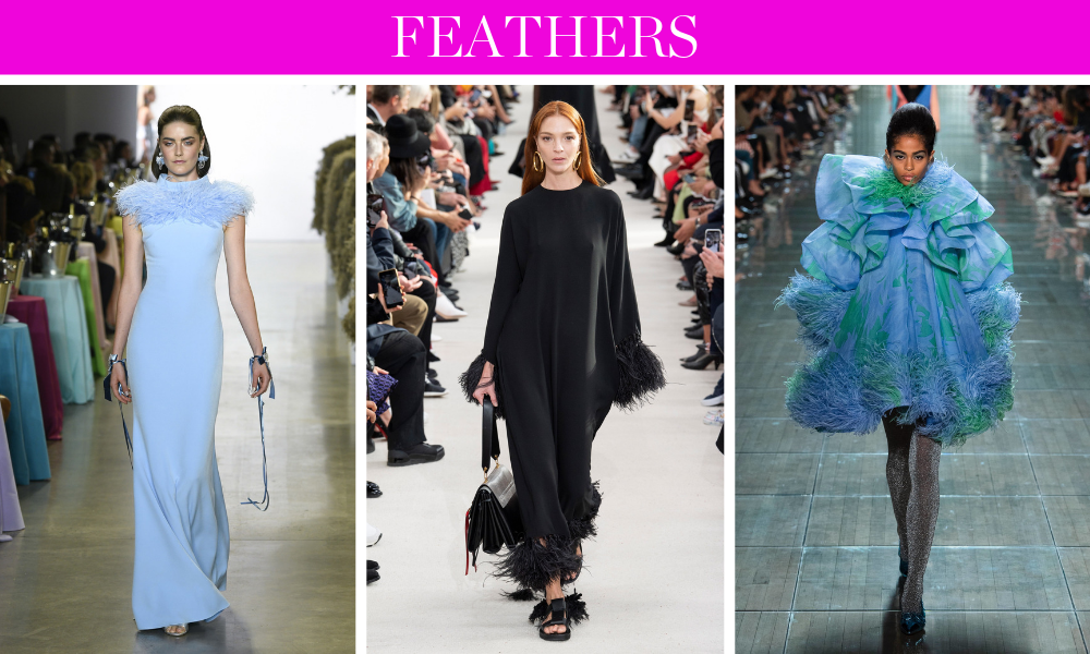 Spring Trends for 2019 by fashion blogger Erin Busbee of BusbeeStyle.com including feathers