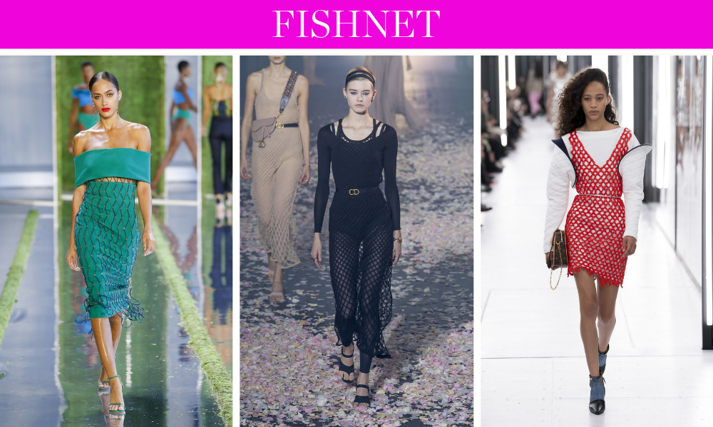 Spring Trends for 2019 by fashion blogger Erin Busbee of BusbeeStyle.com including fishnet