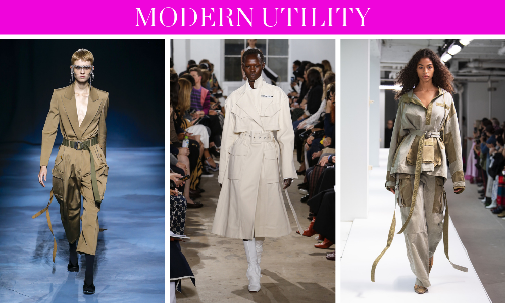 Spring Trends for 2019 by fashion blogger Erin Busbee of BusbeeStyle.com including the updated utility wear look