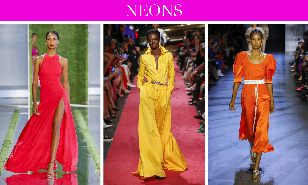 Spring Trends for 2019 by fashion blogger Erin Busbee of BusbeeStyle.com including neons like bright pink, orange, and yellow
