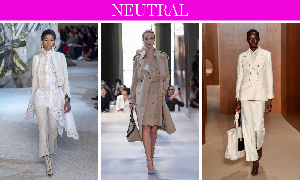 Spring Trends for 2019 by fashion blogger Erin Busbee of BusbeeStyle.com including head to toe neutrals