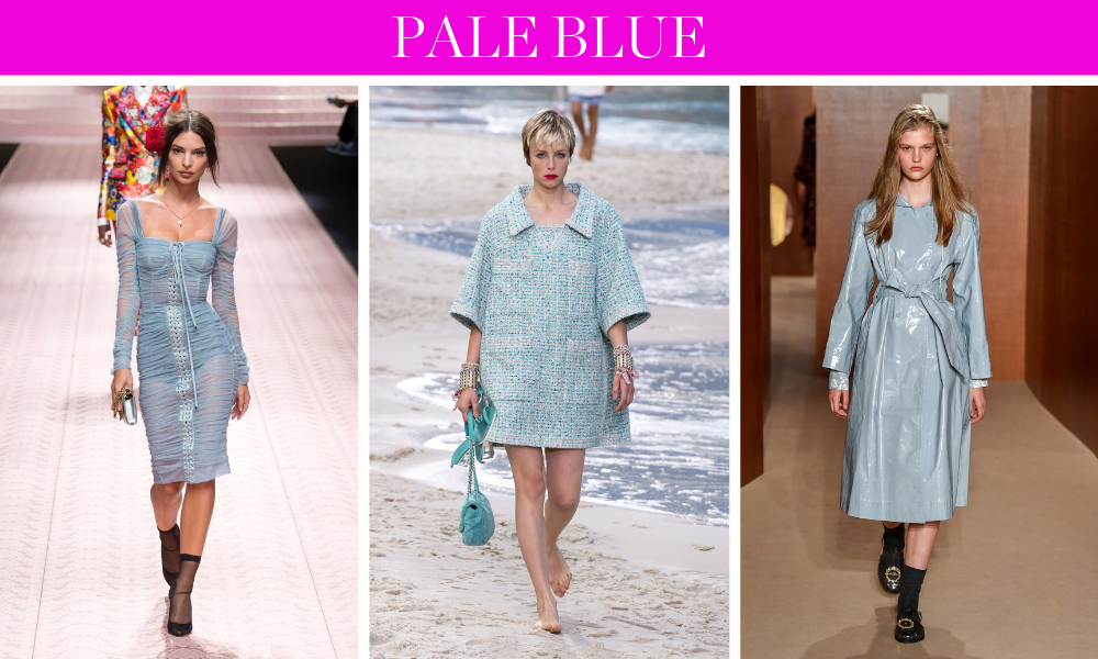 Spring Trends for 2019 by fashion blogger Erin Busbee of BusbeeStyle.com including pastels like pale blue