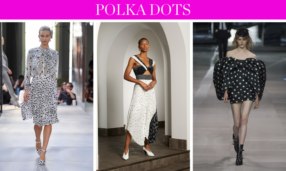 Spring Trends for 2019 by fashion blogger Erin Busbee of BusbeeStyle.com including polka dots