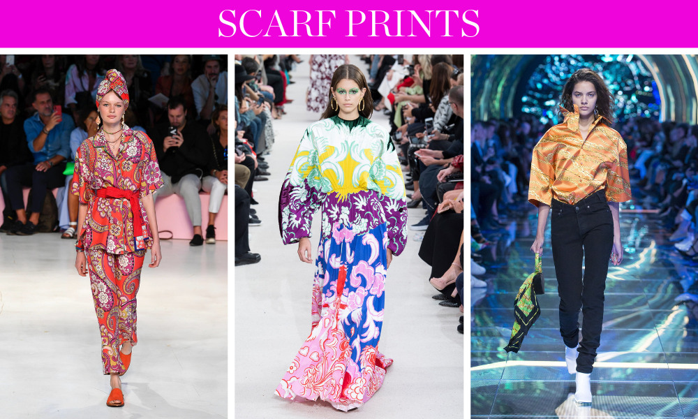 Spring Trends for 2019 by fashion blogger Erin Busbee of BusbeeStyle.com including scarf prints