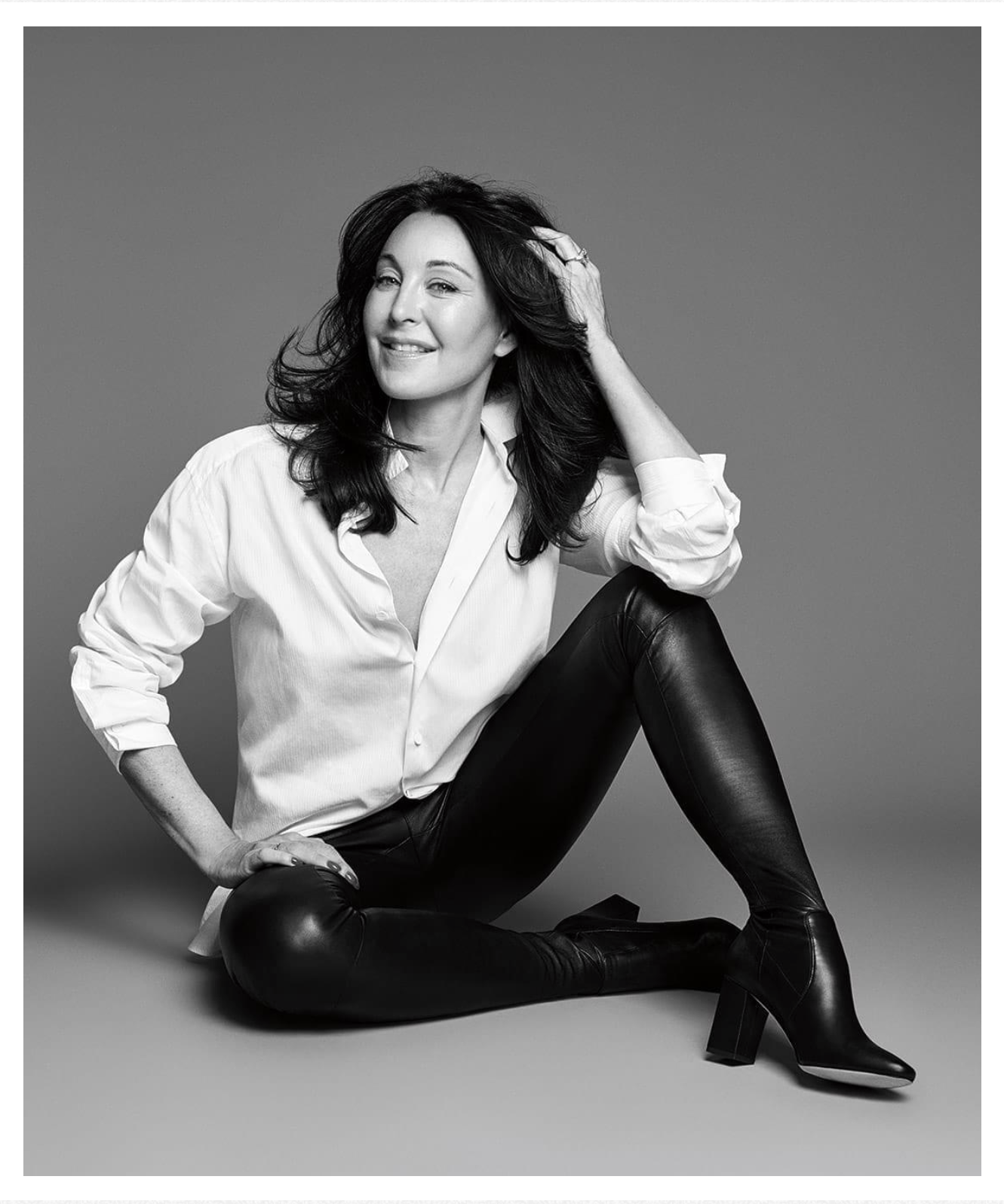 Tamara Mellon founder of Tamara Mellon shoes like Frontline heels which are a celebrity favorite