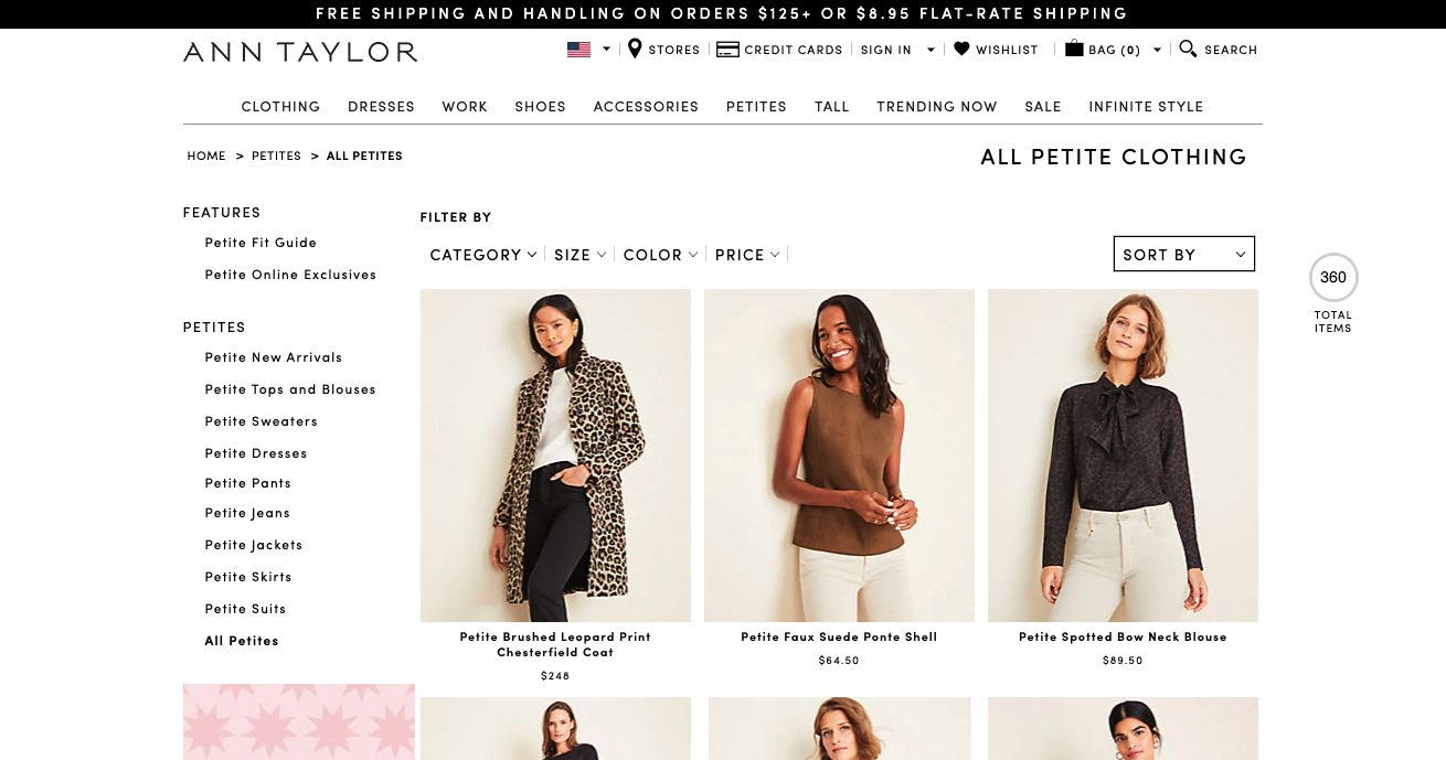 Best brands for petite women, Fashion blogger Erin Busbee of BusbeeStyle.com sharing 5 great brands to shop for petite women including Ann Taylor