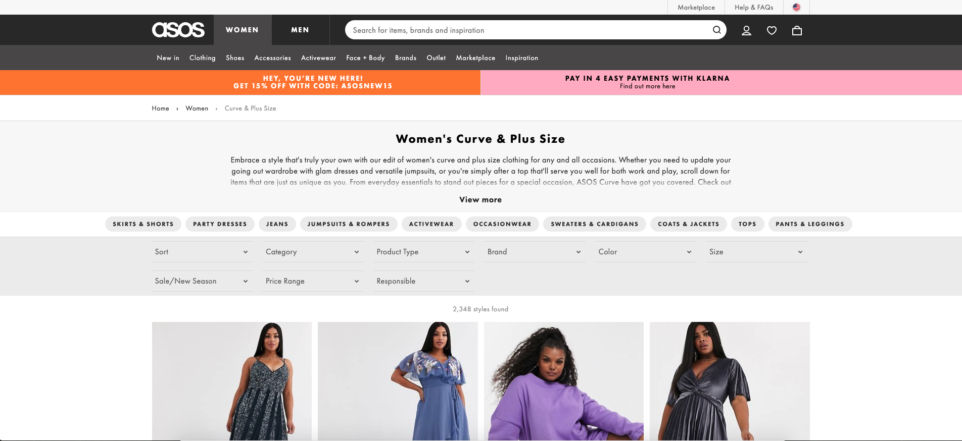 Plus-Size Brands, Fashion blogger Erin Busbee of BusbeeStyle.com sharing the best brands for curvy women including Asos Curve