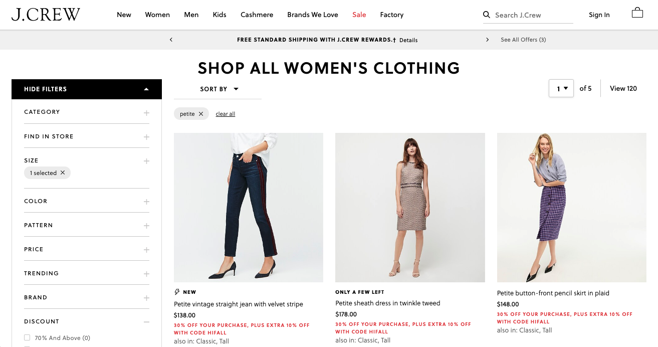Best brands for petite women, Fashion blogger Erin Busbee of BusbeeStyle.com sharing 5 great brands to shop for petite women including J. Crew