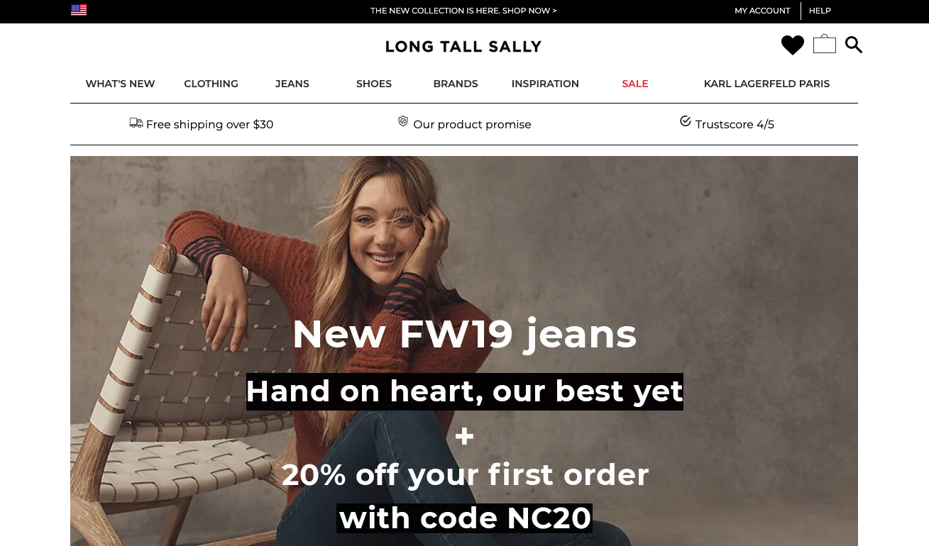 Best Brands For Tall Women   Fashion blogger Erin Busbee of BusbeeStyle.com sharing the best brands for tall women including Long Tall Sally