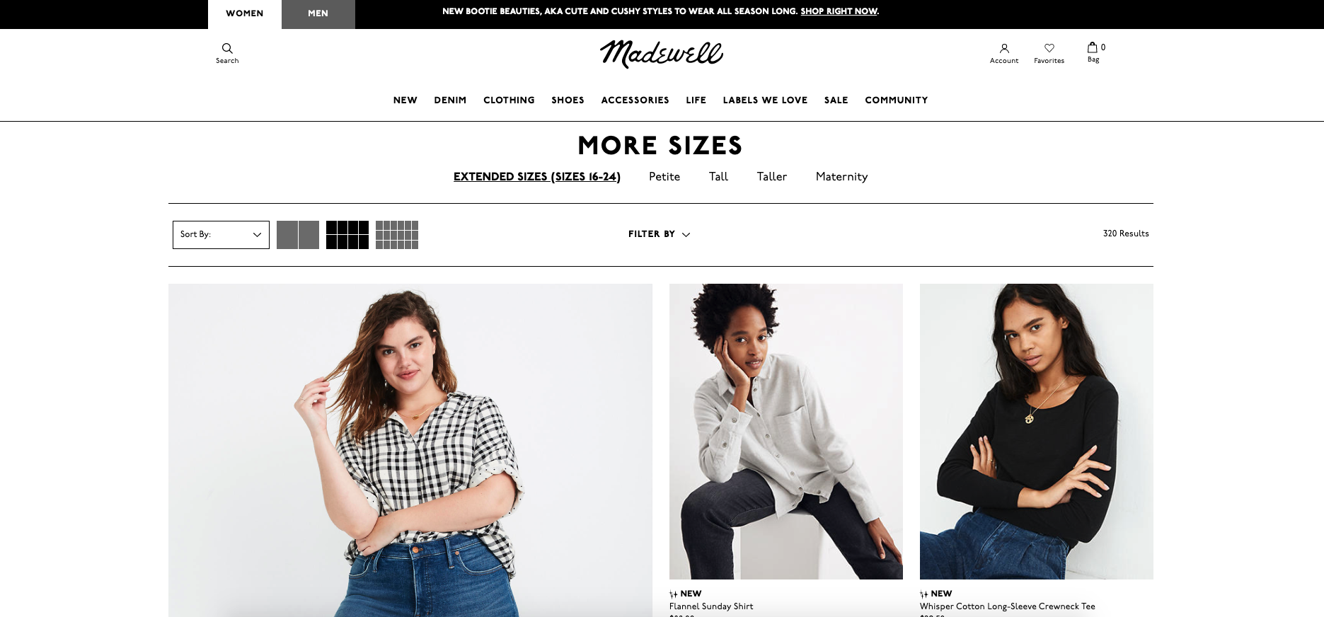 Plus-Size Brands, Fashion blogger Erin Busbee of BusbeeStyle.com sharing the best brands for curvy women including Madewell