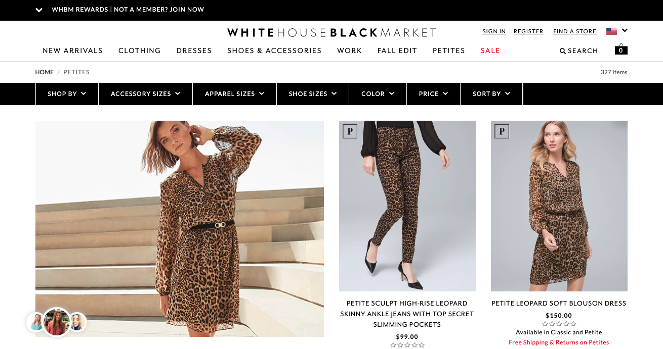 Best brands for petite women, Fashion blogger Erin Busbee of BusbeeStyle.com sharing 5 great brands to shop for petite women including White House Black Market