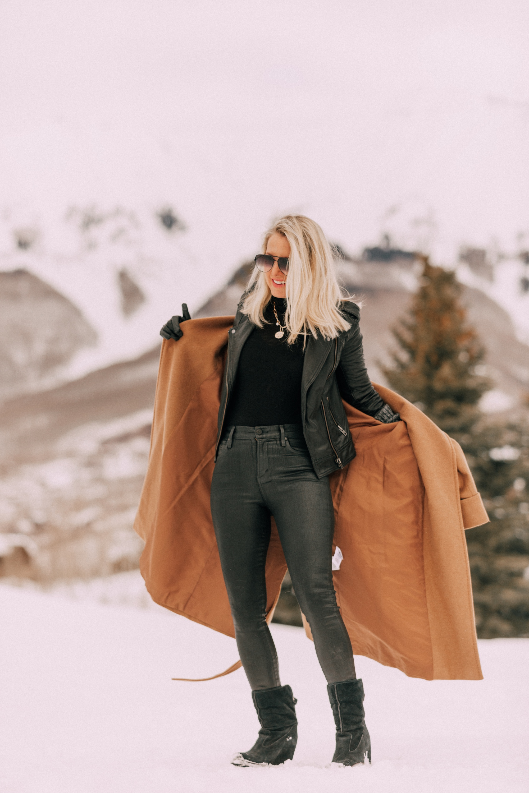Can You Layer a Moto Jacket Underneath a Long Coat? | Busbee Style