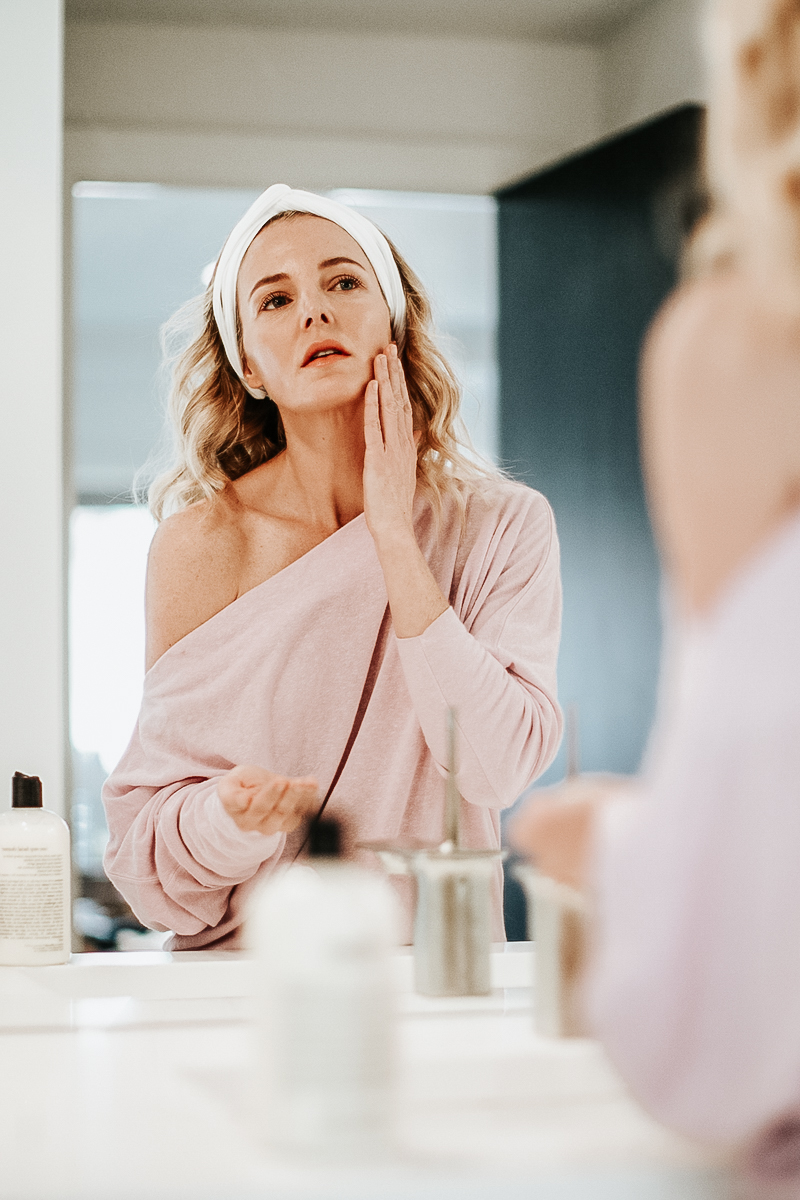 clean beauty - list of the most harmful ingredients, with beauty blogger over 40, Erin Busbee of Busbee style