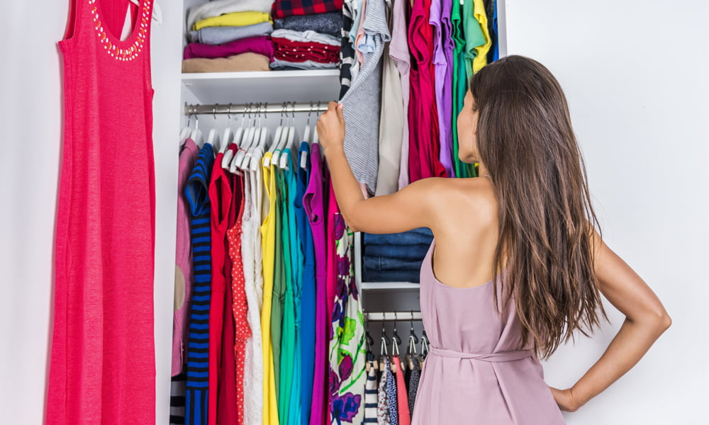 how to organize and clean drawers and closet