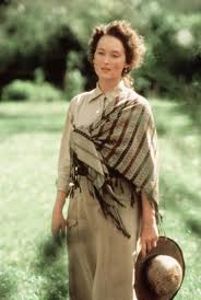 Meryl Streep Out of Africa Style