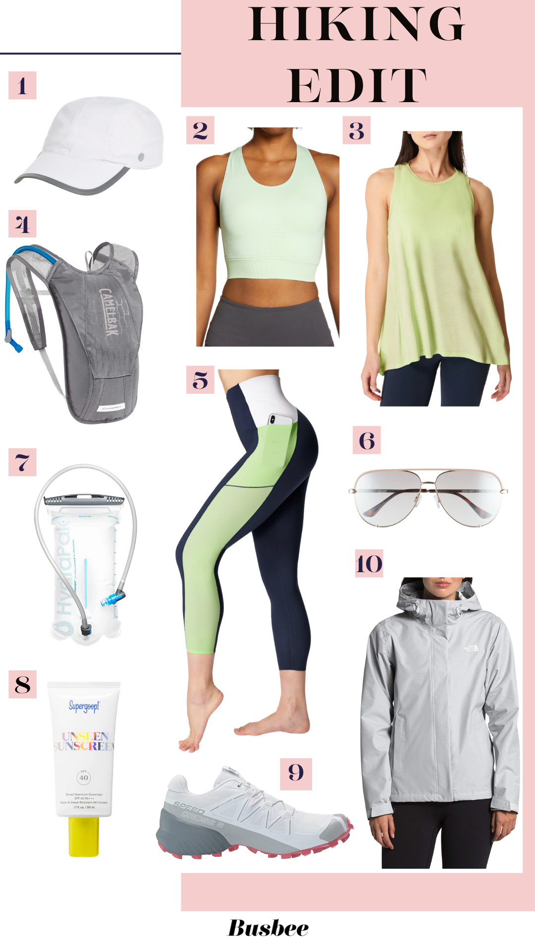 hiking essentials, what to wear hiking, how to dress hiking, womens hiking outfits, salomon hiking shoes, best hiking shoes women, what to wear on a hike, hiking look, hiking outfit, best hiking outfit, hiking must-haves