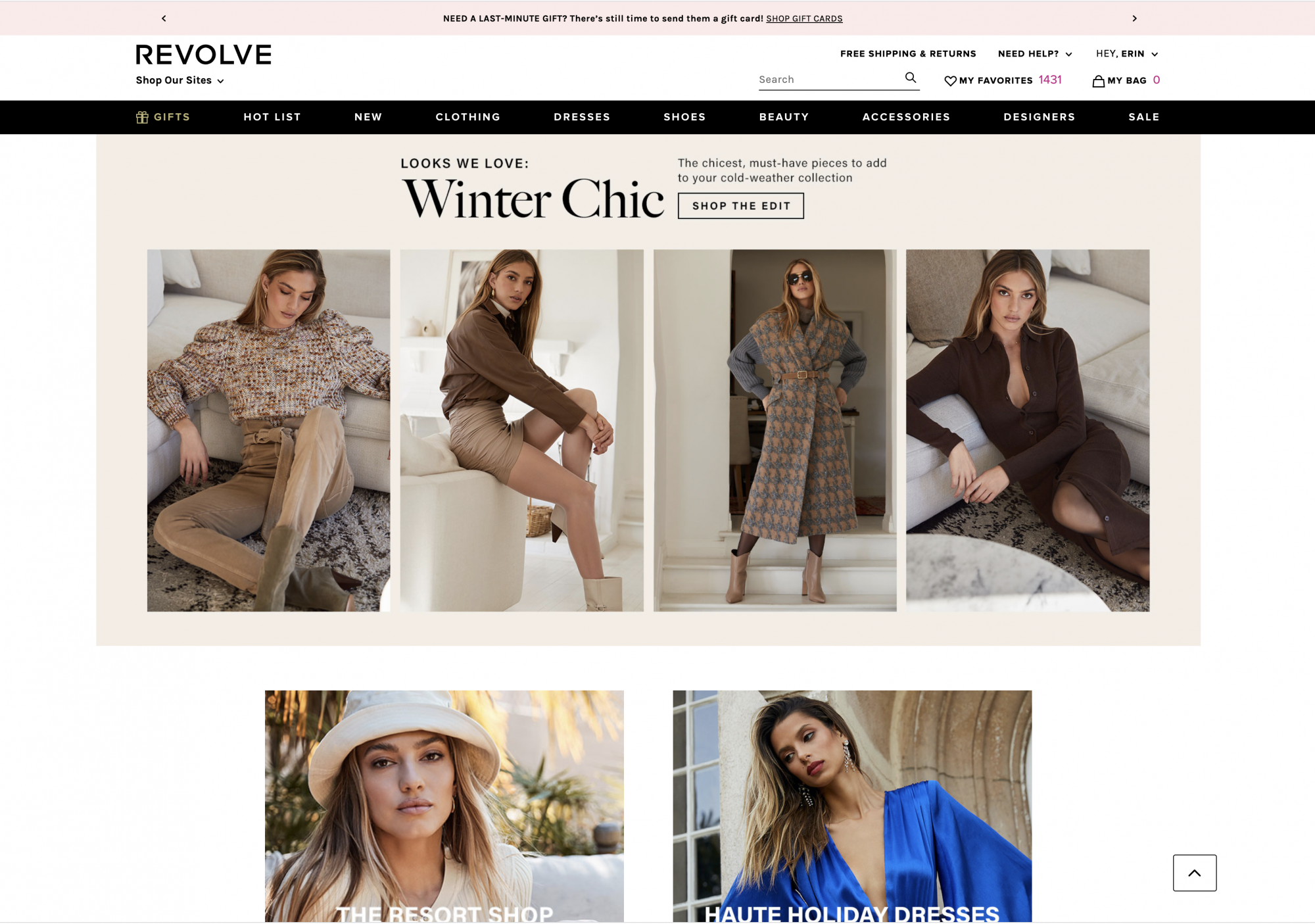 fashion over 40 and where women over 40 should shop from a shopping expert featuring Revolve
