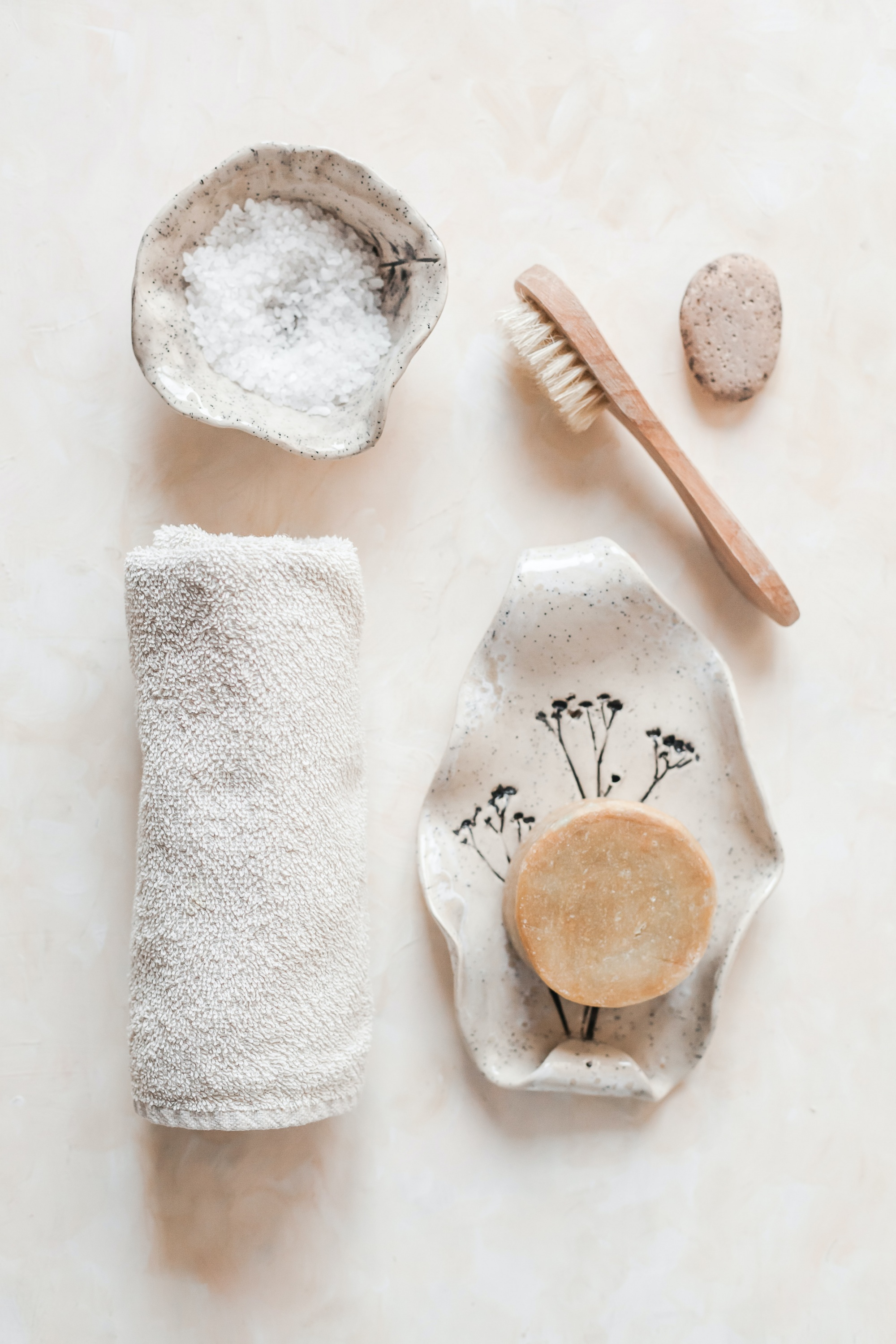 How To Exfoliate Over 40, sharing how to exfoliate your skin as a woman over 40 and why it's important including physical exfoliate