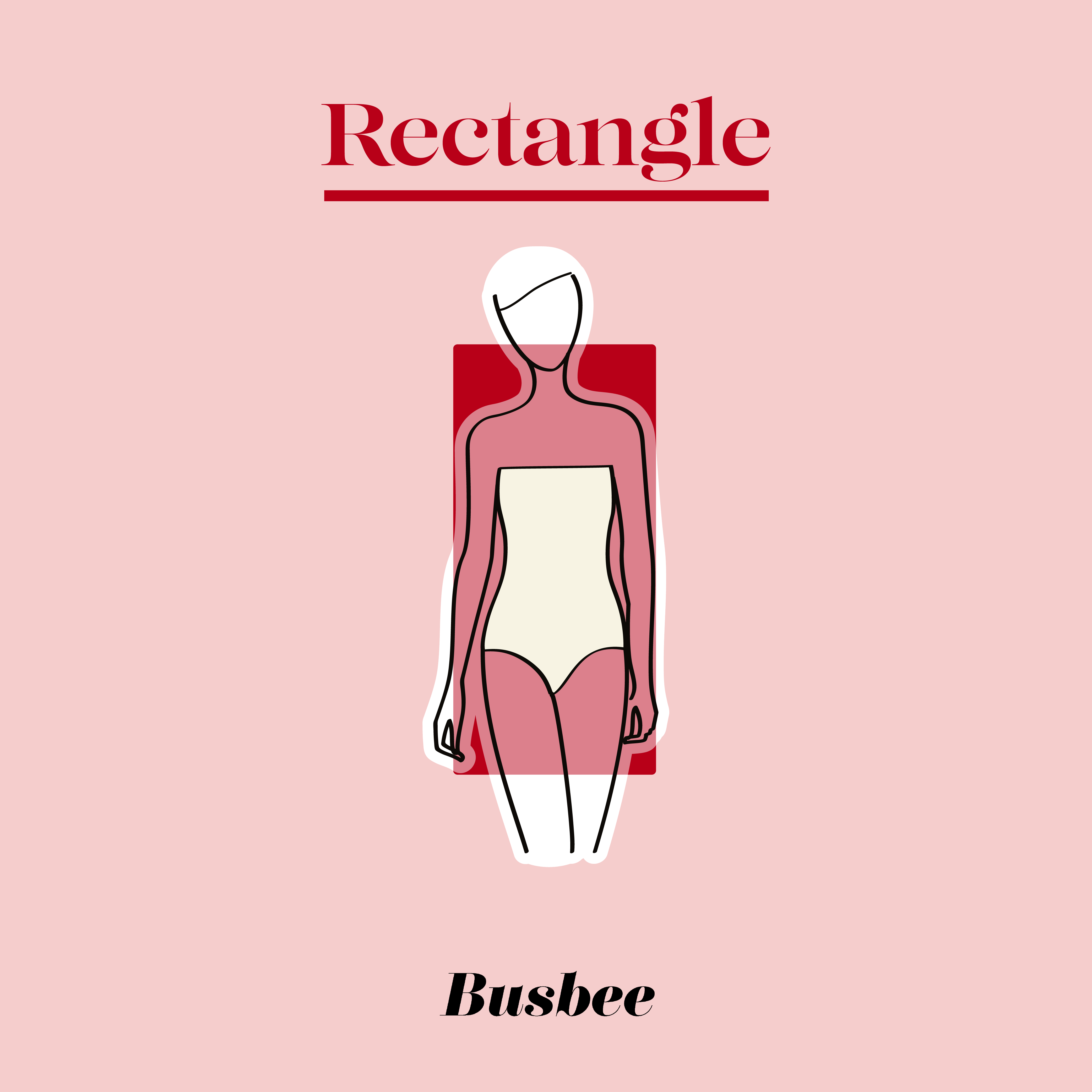 how to dress a rectangle body shape, Erin Busbee of Busbee sharing styling tips for a rectangle body shape
