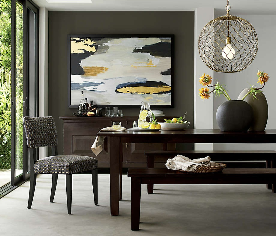vealing Pantone's 2021 colors of the year illuminating yellow and ultimate grey featuring Pottery Barn artwork in shades of yellow, gold and grey