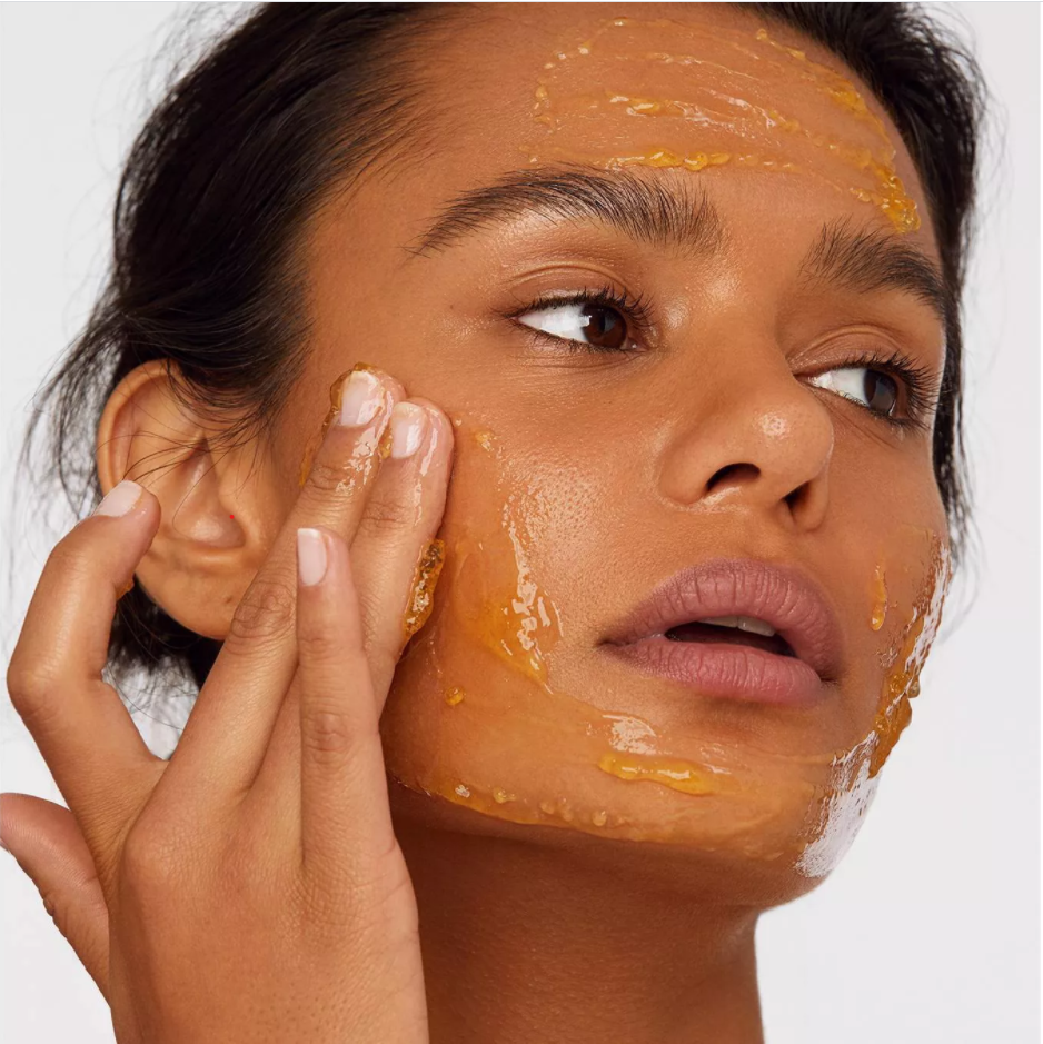 Affordable and effective beauty finds women using a Versed resurfacing mask