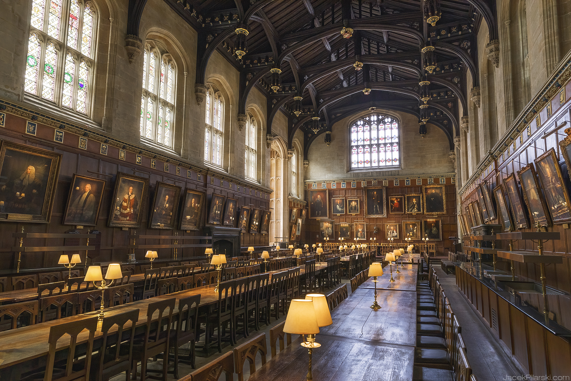 awesome movie locations, Harry Potter, The Hall of Christ Church College, Oxford