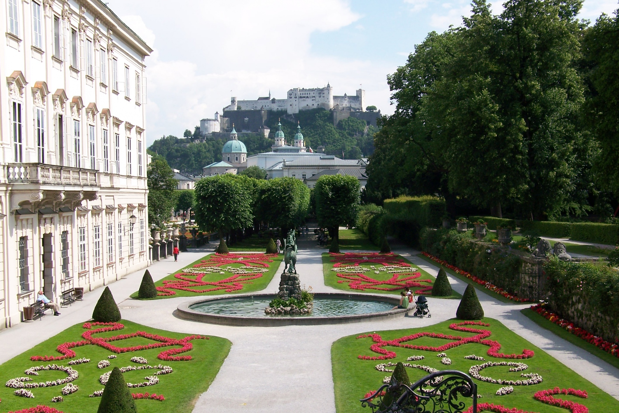 awesome movie locations, The Sound of Music, Mirabell Gardens, Salzburg, Germany