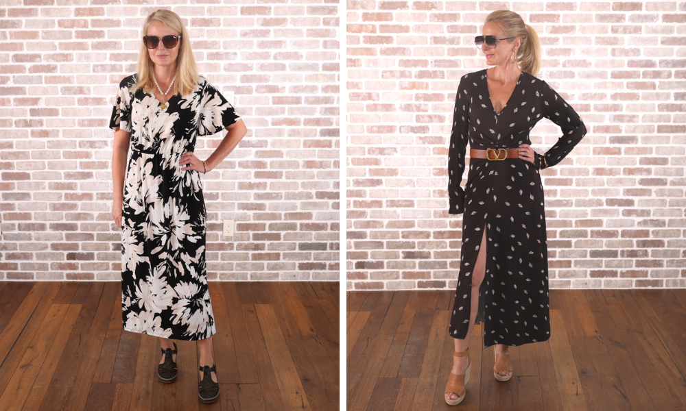 How to look younger, don't look frumpy, erin busbee, avoid big prints