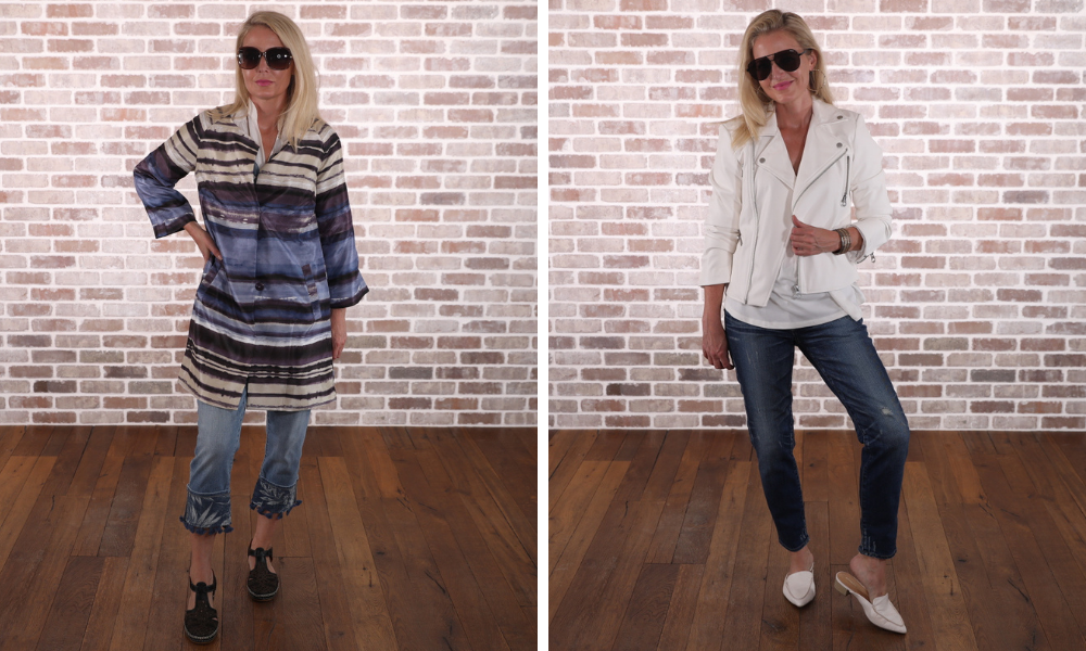 How to look younger, don't look frumpy, erin busbee, beware of boxy styles