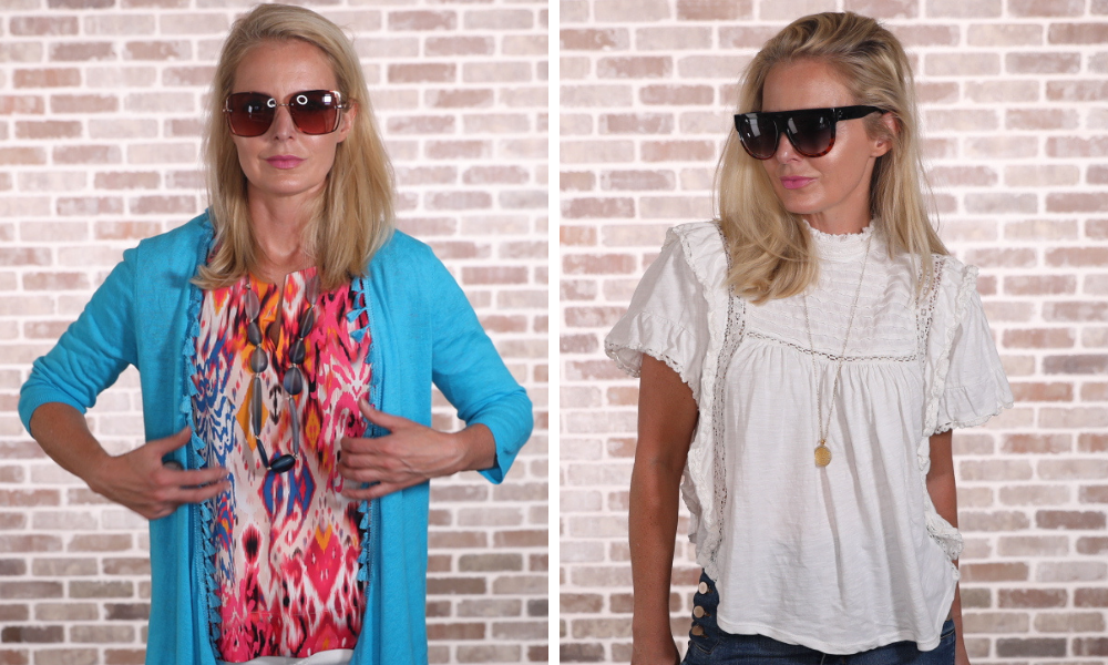 How to look younger, don't look frumpy, erin busbee, jewelry, jewelry choices