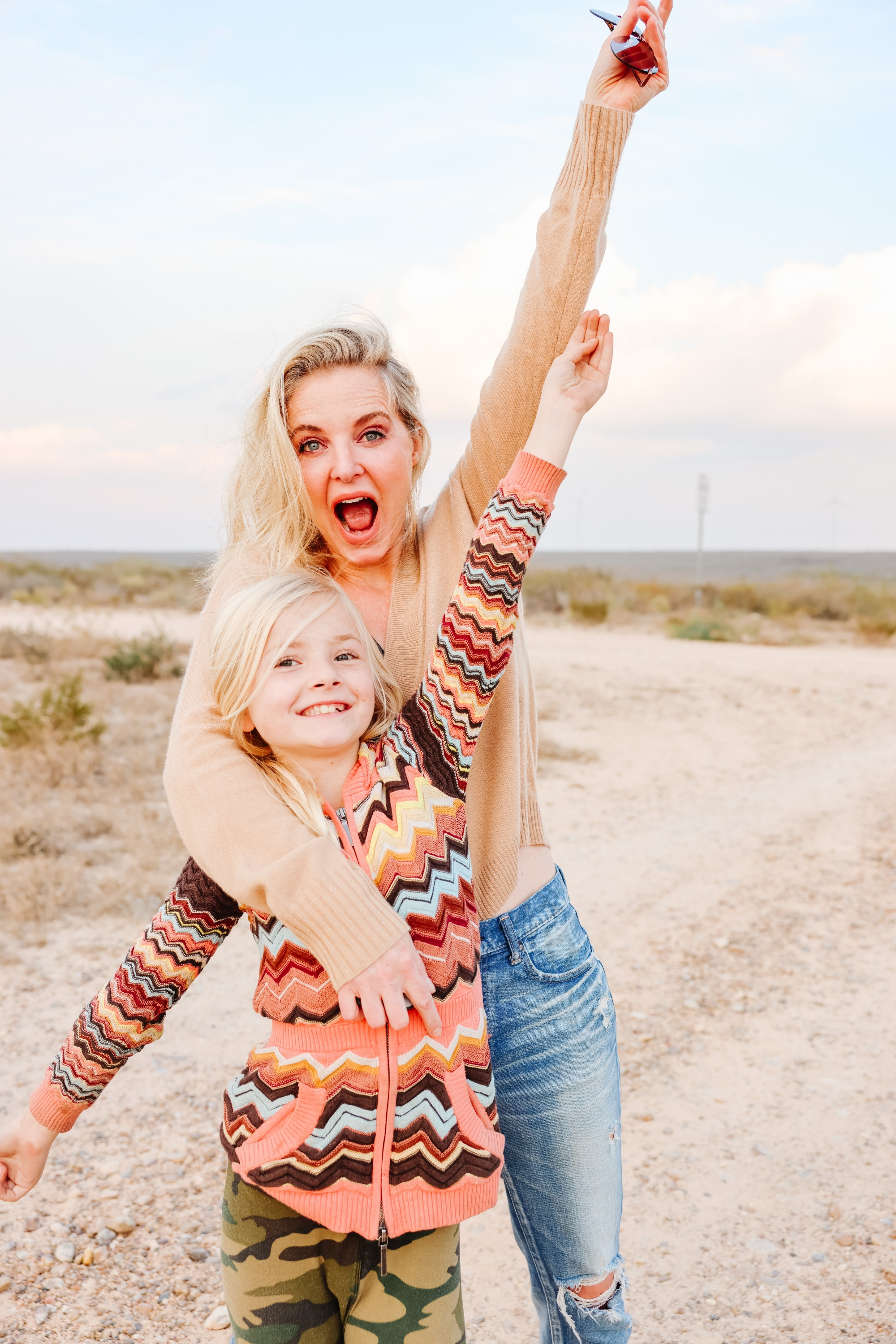 Mother's Day gift ideas 2021 featuring mother and daughter with blonde hair