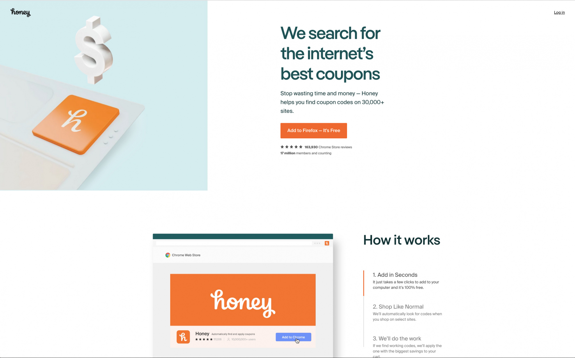 Best coupon sites, join honey homepage