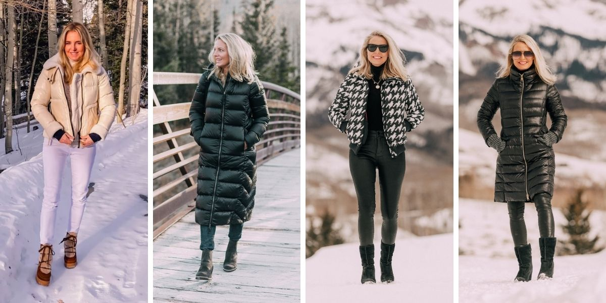 wearable fall trends, fall fashion trends, fall trends, wearable trends, how to wear trends, trends over 40, wearing trends over 40, erin busbee, puffer, puffer coats, puffer jackets, sam. puffers, parajumpers puffer, perfect moment puffer, herno puffers, mackage puffers